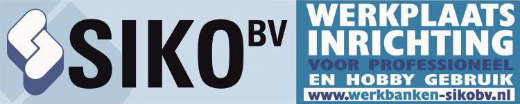 Siko BV de werkplaatinriching specialist, werkbanken leverbaar in 3 kleuren!