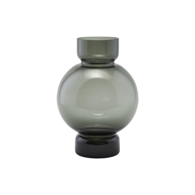 House Doctor Vase, Bubble, Grey