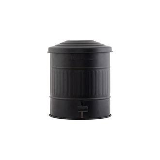 House Doctor Garbage bin, Matte black, 15 Liters