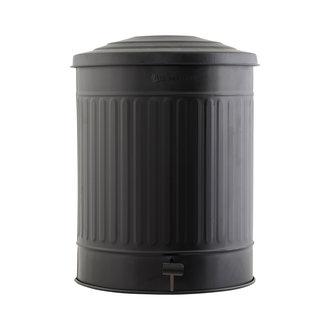 House Doctor Garbage bin, Matte black, 49 Liter