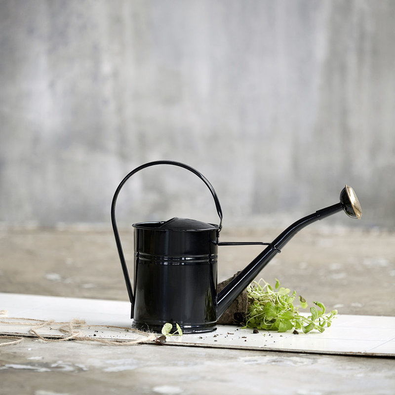 House Doctor Watering can, Black, 2 Liters