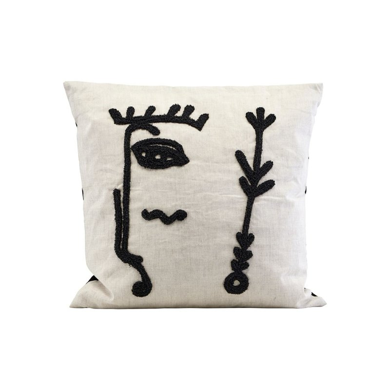 House Doctor Cushion cover, Ingo, White
