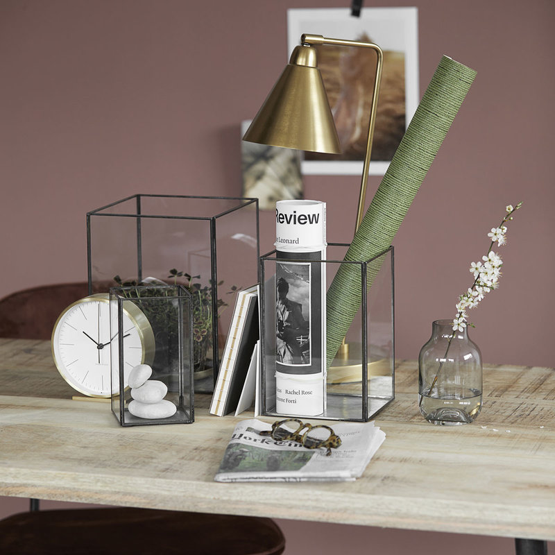 House Doctor Table lamp, Game, Brass, E27, Max 25 W, 2.20 m cable