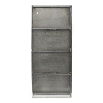 House Doctor Cabinet, Glass, Zinc