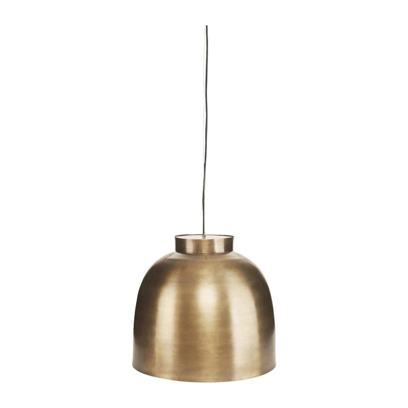 House Doctor Lamp, Bowl, Brass, E27, Max 40 W, 3 m cable