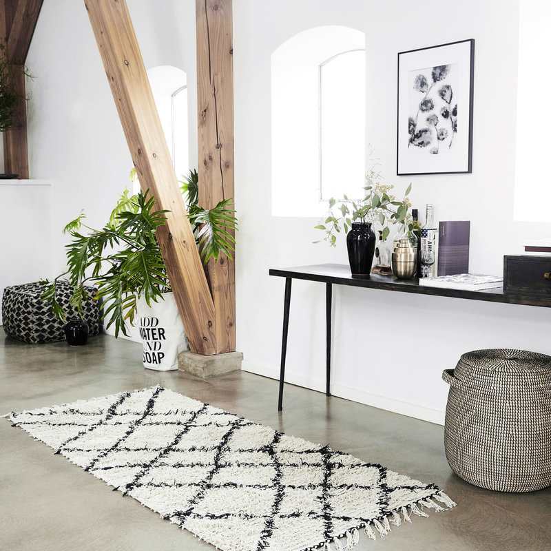 House Doctor Console table, Club, Black stain