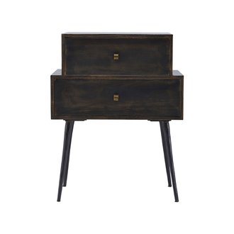 House Doctor Drawer, Club, Black stain