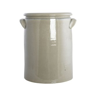 House Doctor Planter, Pottery XL, Sand, Finish/Colour may vary