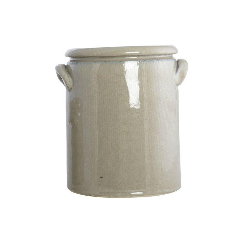 House Doctor Bloempot Pottery M, zand