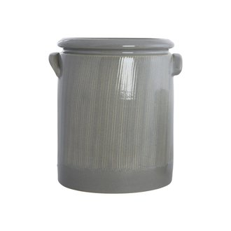 House Doctor Bloempot Pottery M, lichtgrijs