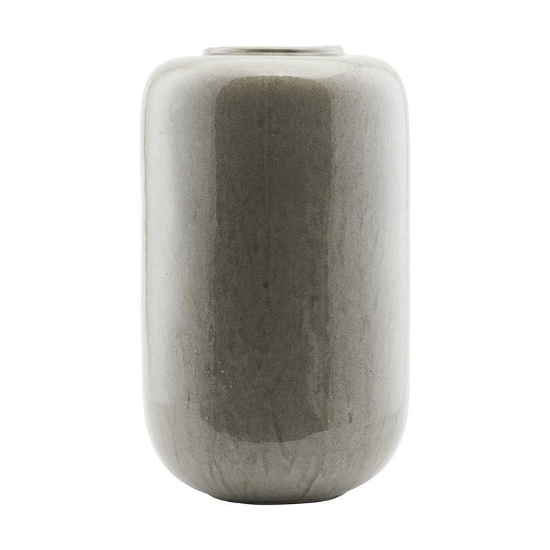House Doctor Vase, Jade, Grey, Finish/Colour may vary