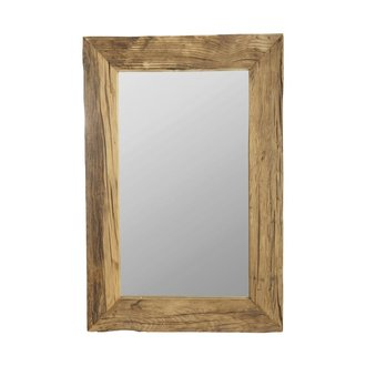 House Doctor Mirror w. frame, Pure Nature, Irregularities in wood may app