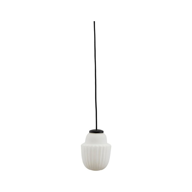 House Doctor Lamp Acorn, wit