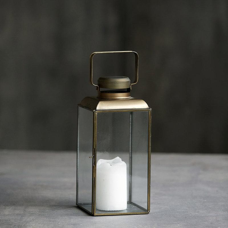 House Doctor Lantern, Vintage, Brass