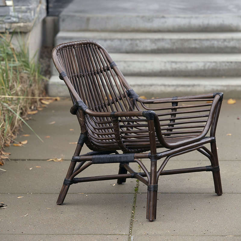 House Doctor Lounge chair, Colony, Nature, Seat height: 30 cm