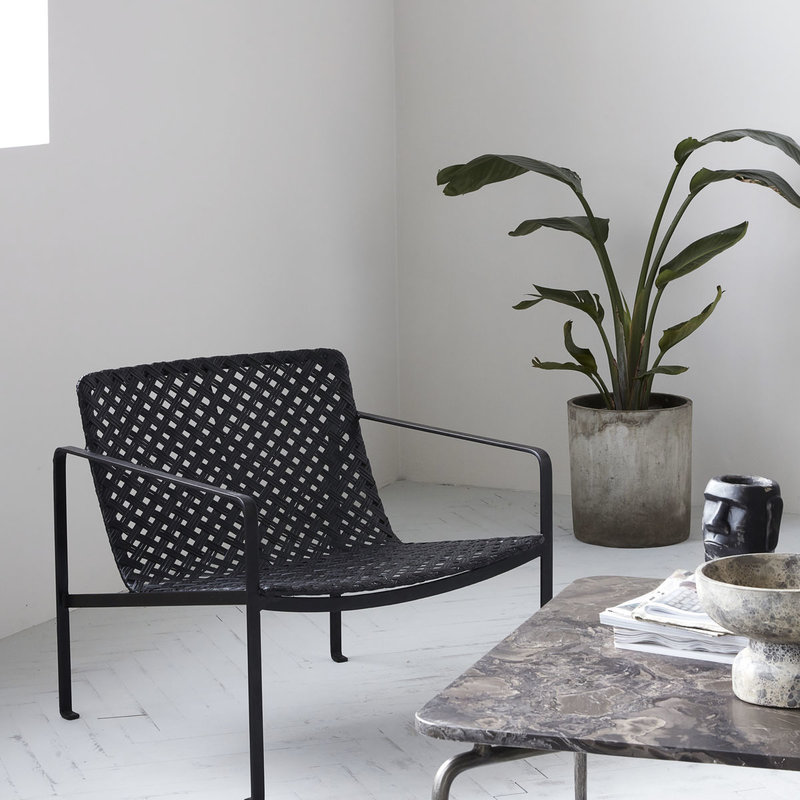 House Doctor Chair w. armrest, Habra, Black