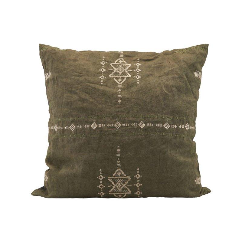 House Doctor Cushion cover, Inka, Green,