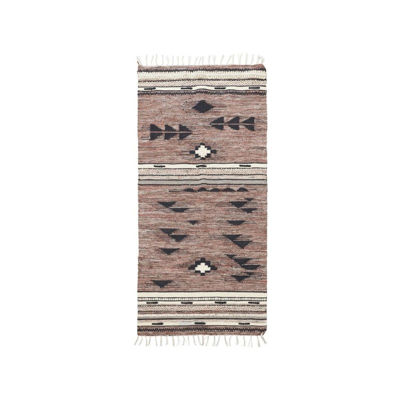 House Doctor Rug, Tribe, Red/Brown