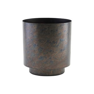House Doctor Planter, Como, Matte iron/Black, Finish/Colour may vary