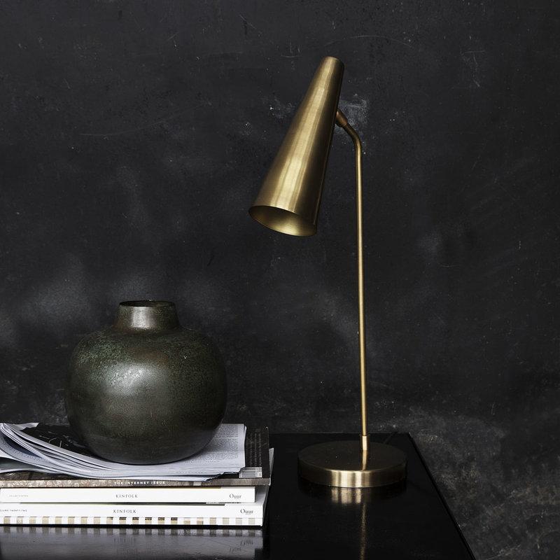 House Doctor Vase, Lama, Green/Brown