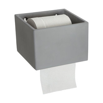 House Doctor Toilet paper holder, Cement