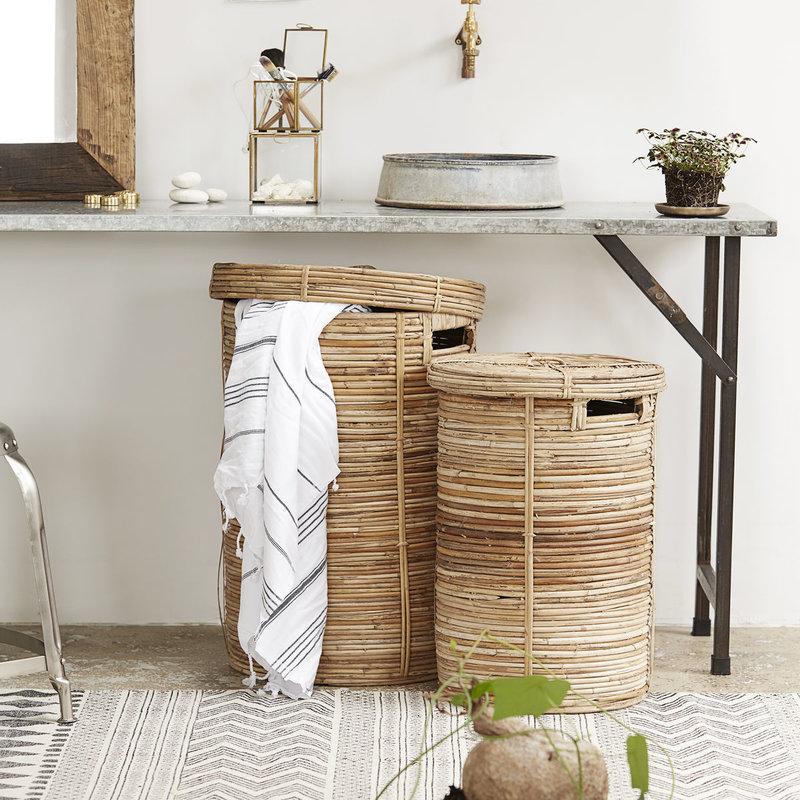 House Doctor Laundry baskets, Chaka, Nature, Set of 2 sizes