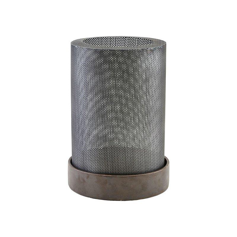 House Doctor Lantern, Bash, Antique zinc