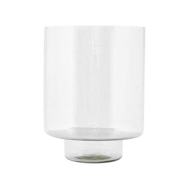 House Doctor Lantern, Glass, Clear