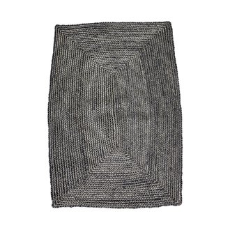 House Doctor Rug, Structure, Black/Grey