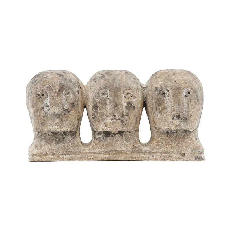 House Doctor Art piece, Ancient head, Grey/Brown, Finish/Colour may vary