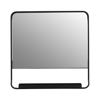House Doctor Mirror, Chic, Black