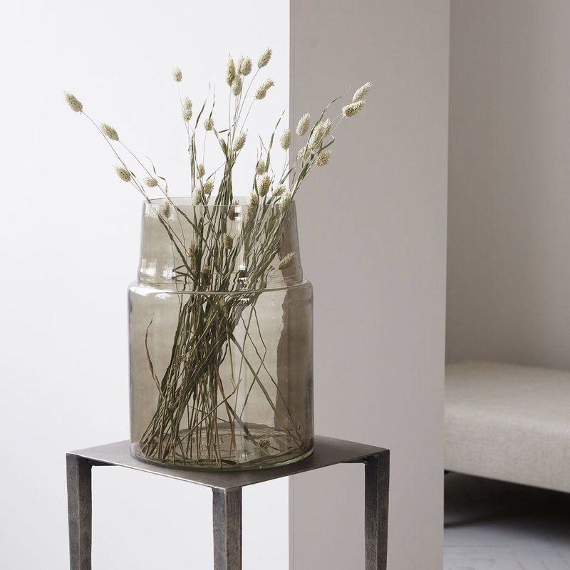 House Doctor Vase, Airy, Grey, 10 Liters