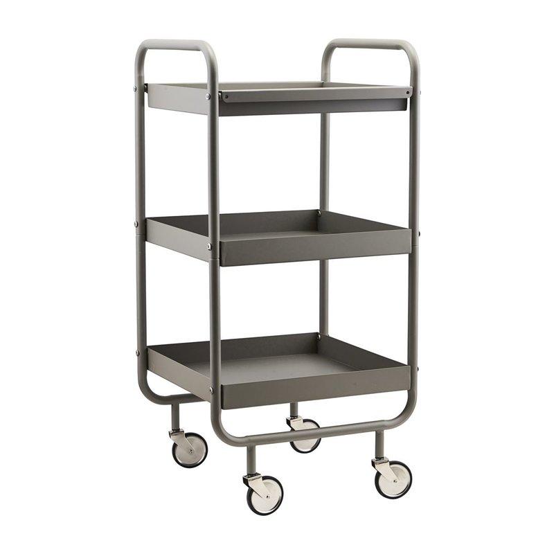 House Doctor Trolley, Roll, Grey