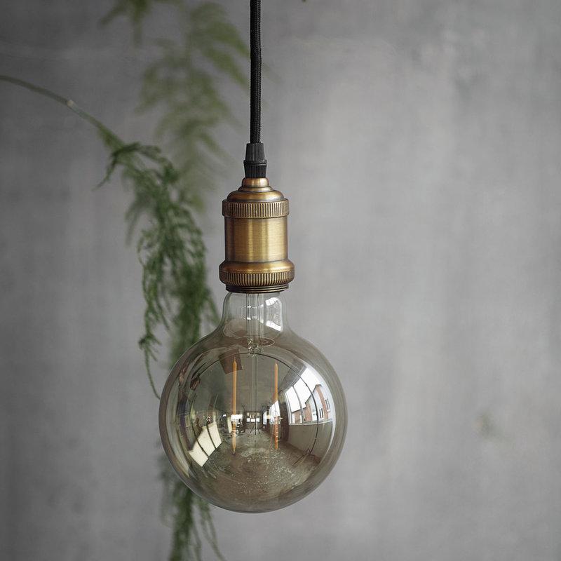 House Doctor Led Lamp Grey Decoration