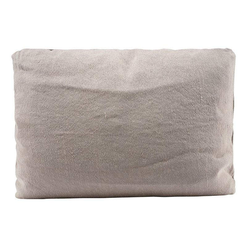 House Doctor Chair pad, Alba, Light grey, (pillow: 203016080)