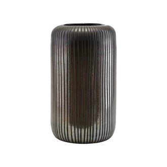 House Doctor Vase, Utla, Black/Brown