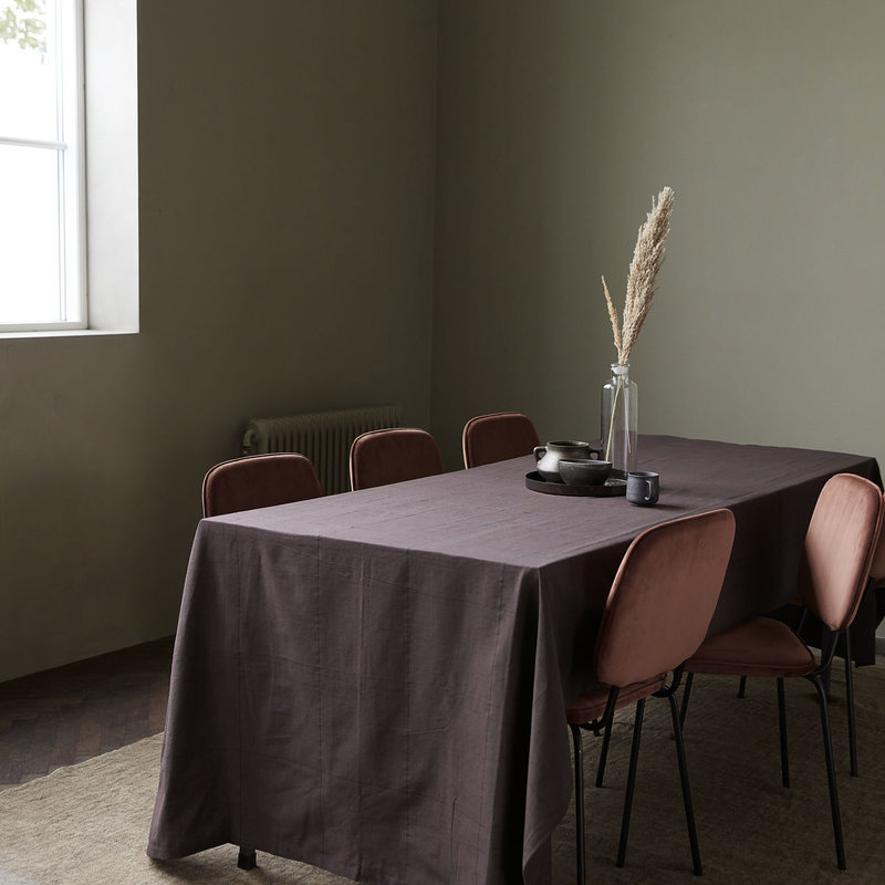 House Doctor Tablecloth, Virra, Brown