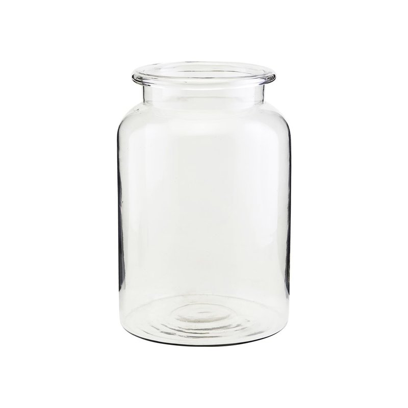 House Doctor Vase, Nete, Clear