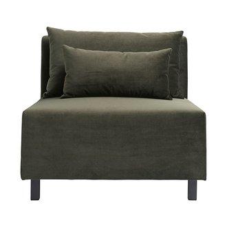 House Doctor Sofa middelste gedeelte, Slow, groen