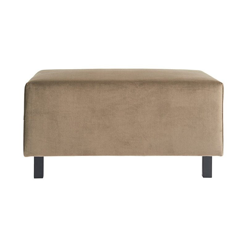 House Doctor Pouf, Slow, Sand, Seat height: 44 cm