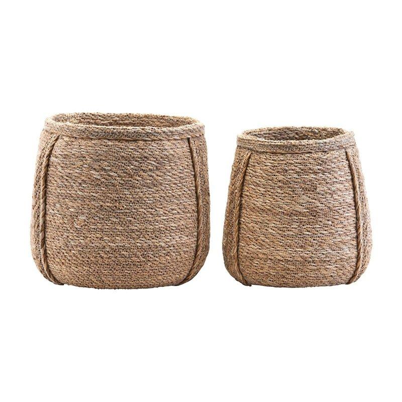 House Doctor Basket, Plant, Set of 2 sizes