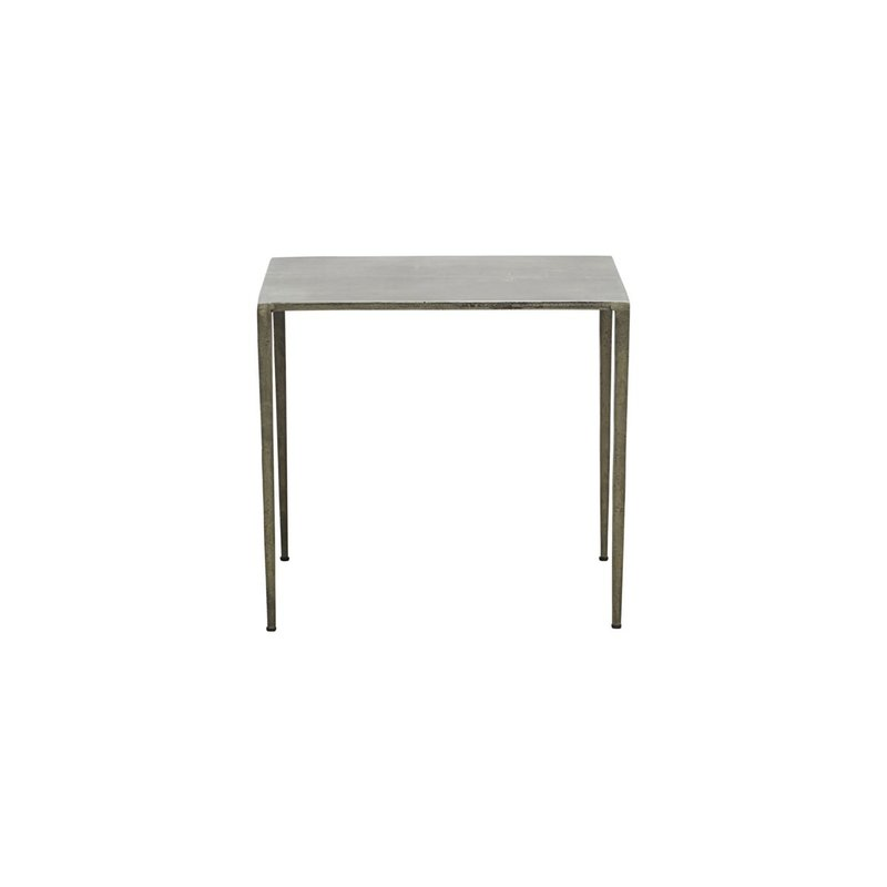 House Doctor Side table, Ranchi, Nickel