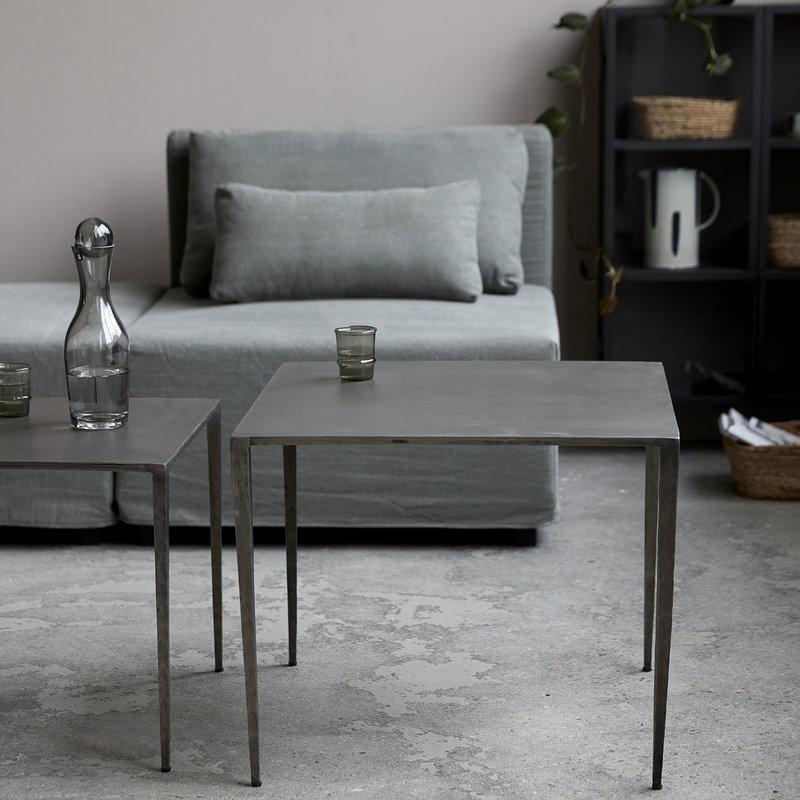 House Doctor Side table Ranchi, Nikkel