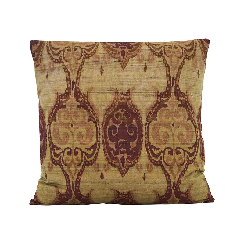 House Doctor Cushion cover, Thia, Green/Brown, Finish/Colour may vary