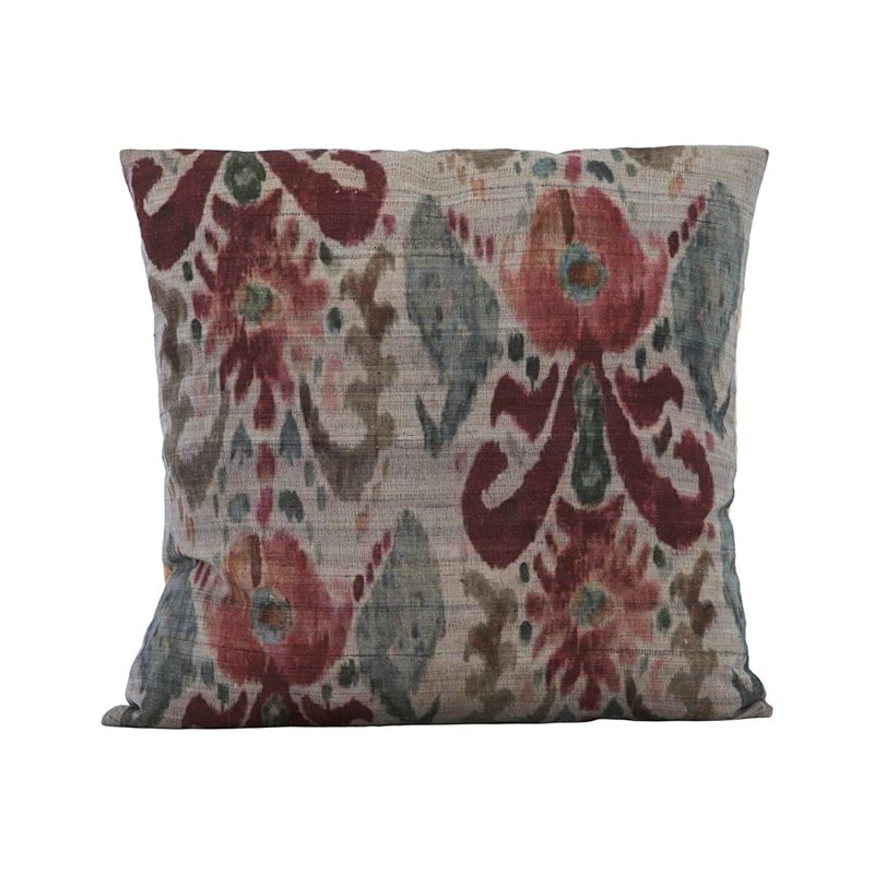 House Doctor Cushion cover, Lehla, Grey/Green/Rose, Finish/Colour may var