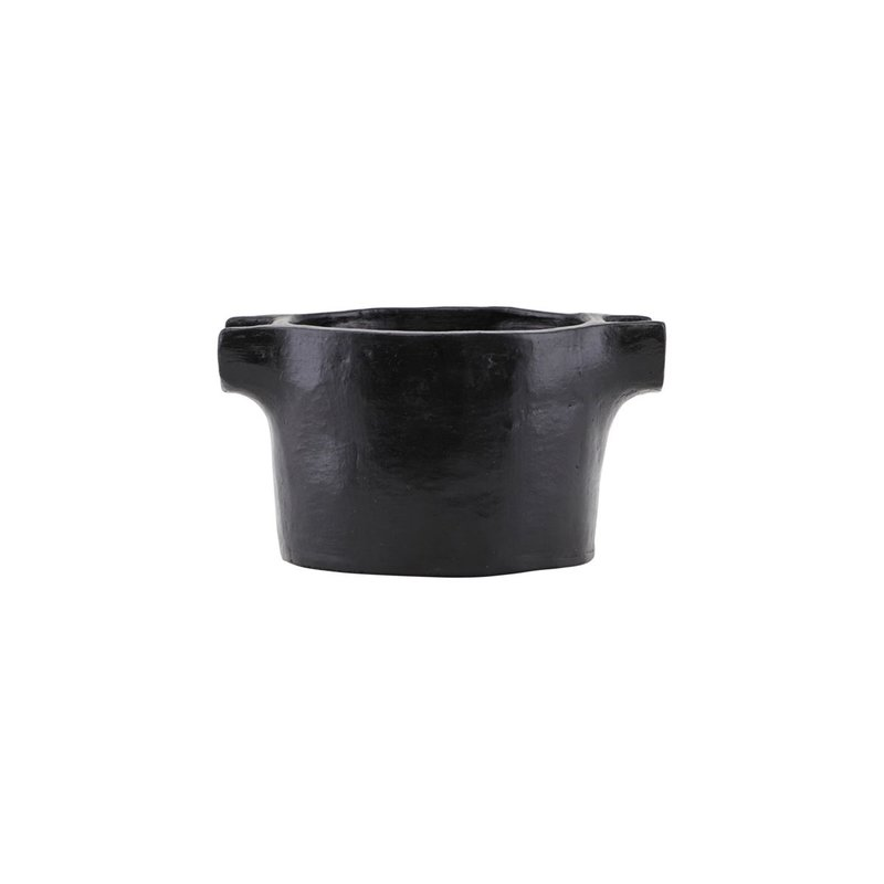 House Doctor Serving dish, Earth, Black
