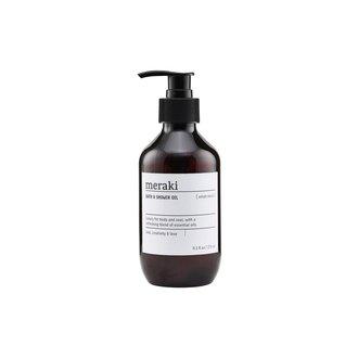 Meraki Bath & Shower oil, Velvet mood, 9.3 fl.oz/ 275 ml.