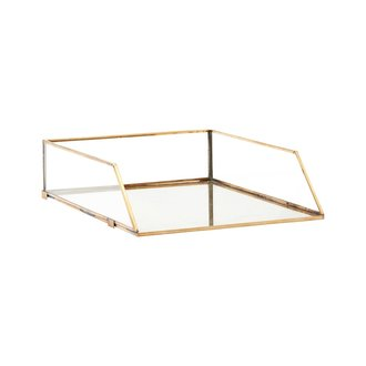 Monograph Letter tray, Brass