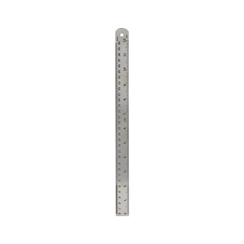 Monograph Ruler, Silver finish