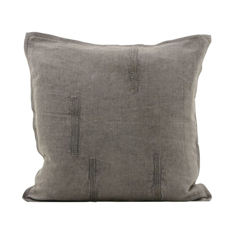 House Doctor Cushion cover, Mollie, Grey, Finish/Colour may vary